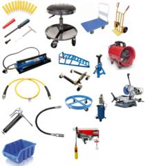Werkplaatsuitrusting