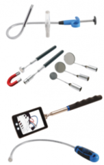 Magneetheffers, grijpers & spiegels