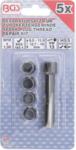 Bgs Technic Reparatieset voor vonk bougie schroefdraad M10 x 1,0 mm