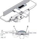 Draagbare schaaf-vandiktebank 305mm - 2mm