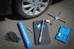 Bgs Technic Wielwisselserviceset met garagekrik 1,5 t  10-dlg