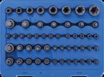 Bgs Technic Bit- en dopsleutelset E-profiel / T-profiel / T-profiel mt boring / TP-profiel 52-dlg