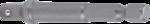 Bgs Technic Adapter voor boormachines aandrijving buitenzeskant 6,3 mm (1/4) / uitgaande buitenvierkant 6,3 mm (1/4)
