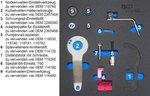 Bgs Technic Motorinstelgereedschap-set voor BMW und MINI, 1.5 & 2.0L diesel