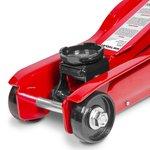 Hydraulische garagekrik 2t - extra laag voor sportieve wagens