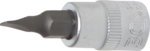 Bgs Technic 1/4 bit dop, plain slot 4 mm