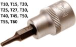 Bgs Technic 3/8 bit dop voor  schroeven (zonder gat) t10