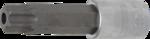 Bgs Technic 1/2 bit dop t-profiel met gat, t80x100 mm