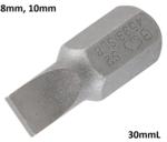 Bgs Technic Bit 10 mm (3/8) schijfsleuf SL 8 mm
