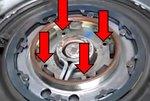 Bgs Technic Dubbel koppelingsgereedschap voor Volvo, Chrysler, Dodge