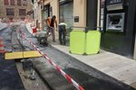 Afscherming voor werkzone