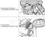 Bgs Technic Double Vanos Adjustment Tool Set for BMW M52TU / M54 / M56