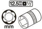 Bgs Technic Speciaal bout / moerverwijderaars, 8 mm