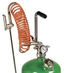 Raasm mobiele verstuiver staal 24 liter