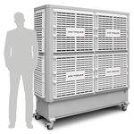 Industriele koelventilator 40000m³/h 260l