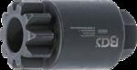 Vliegwiel- / krukas-draaigereedschap voor Volvo / Renault MP8 / MP10 / D13A