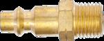 Lucht insteeknippel (1/4) buitendraad VS / Frankrijk