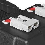 Accubak 30x20x20cm 2x USB - 1x 12V stekkerdoos - Voltmeter - 2x Anderson stekker