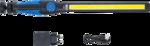 COB-LED werk-/looplamp dubbele LED extra plat
