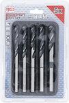 HSS-borenset 10 - 11 - 12 - 13 - 15 mm 5-dlg