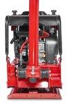 Trilplaat met benzinemotor - 25kn