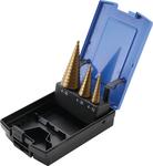Bgs Technic Stappenboor, titanium, 4-30mm 3-delig