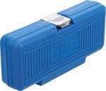Dopsleutelset E-profiel 1/4 / 1/2 E4 - E24 38-dlg