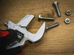 Verstelbare moersleutel met kunststof greep | max. 38 mm