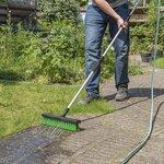 Waterbezem met tuinslangaansluiting