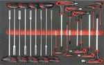 Black Edition gereedschapwagen 308 delig