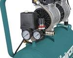 Mobiele geluidsarme compressor 8 bar 24l 60l/min