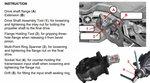 Bgs Technic Differentieelflens- & inlegmoer-gereedschapsset voor BMW E70, E82, E90, E91, E92, E93
