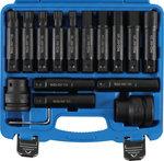 Bgs Technic Bitenset voor vrachtwagens | 20 mm (3/4)  25 mm (1) | 16 stuks