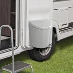 Afvalbak L met deksel voor caravan/camper