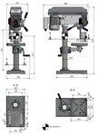 Tafelboormachine diameter 25 mm