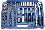 Bgs Technic Dopsleutelset golfprofiel 6,3 mm (1/4) / 12,5 mm (1/2) 94-delig