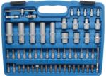 Bgs Technic Dopsleutelset golfprofiel 6,3 mm (1/4) / 12,5 mm (1/2) 108-delige