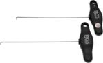 Bgs Technic Haak Set voor demontage van Mercedes Dashboards 2 delig