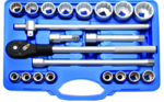 Bgs Technic Dop Set, 12-punts | 20 mm (3/4) aandrijving | 21 delig