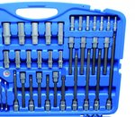 Bgs Technic Dopsleutelset zeskant 6,3 mm (1/4) / 10 mm (3/8) / 12,5 mm (1/2) 213-delig