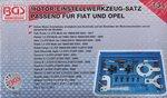 Bgs Technic Motor Timing Tool Set voor Fiat / Ford / Opel / Suzuki 1.3L Diesel