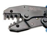 Bgs Technic Ratelgereedschap voor ongeisoleerde kabelschoenen 0,5 - 6 mm2