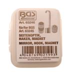Bgs Technic Endoscoop toebehorenset, spiegelprisma, haak, magneet voor BGS 63245
