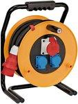 Brobusta® CEE 1 IP44 kabelhaspel voor industrie/bouw 30m
