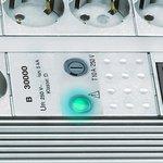 Premium-Line overspanningsbeveiliging 8-voudig Duo lichtgrijs 3m