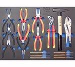 Bgs Technic Workshop Trolley Pro Standard Max met 263 delig gereedschappen