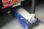 Aluminium Hydraulische Floor Jack, extra vlak, 2 To