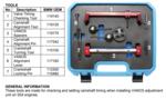 Bgs Technic Motorafstelset voor BMW S54 8-delig