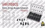 Bekleding clips assortiment 192 delig