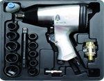 Bgs Technic Slagmoersleutelset 16-delig